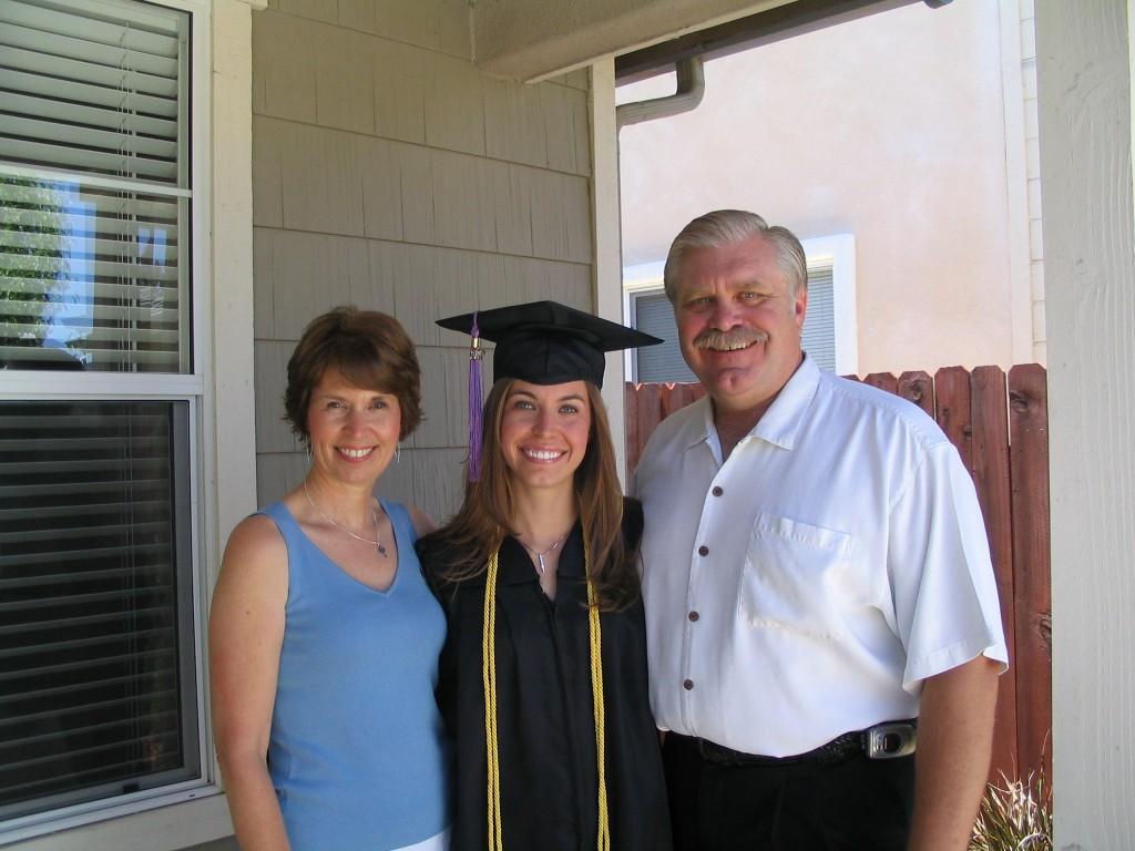 Stephanie Petersen College Graduation  2007